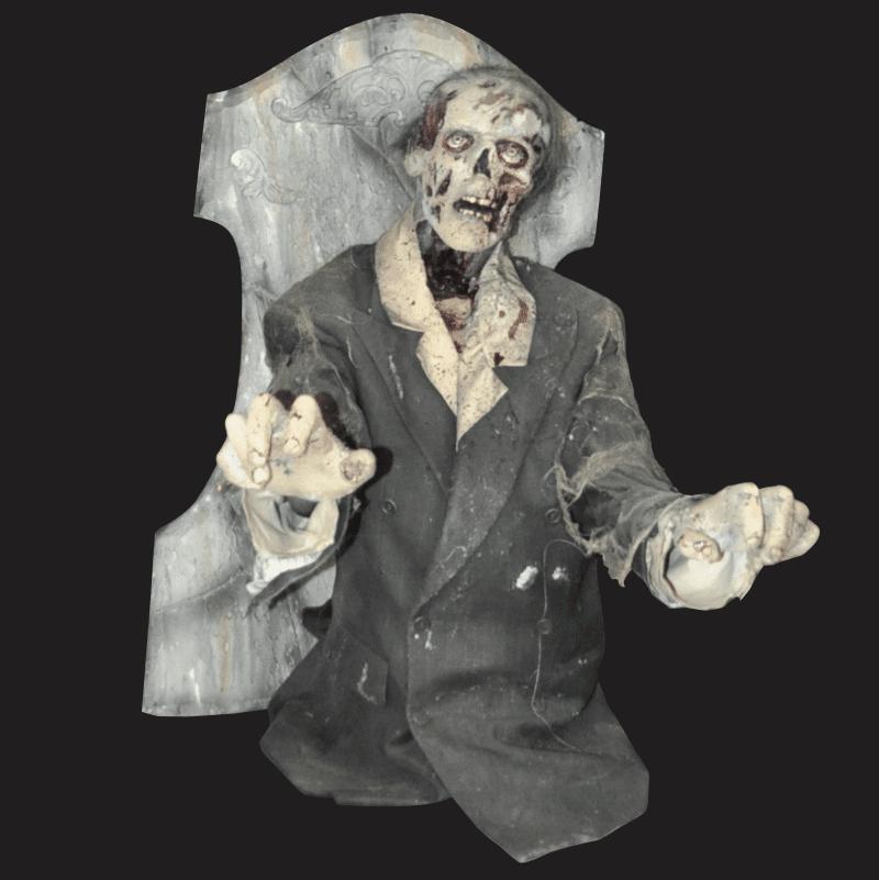 PAINT101-Tombstone Zombie