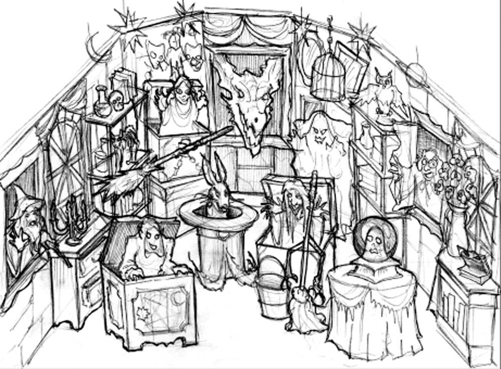 Wizard's Gallery sketch
