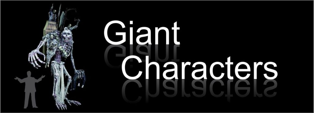 giant characters