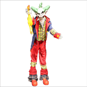 SITE PHOTO - CLWN108 Dropping Thrashing Stilted Clown