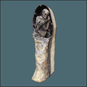 SITE PHOTO - MUM101 Mummy Half Coffin Lunger