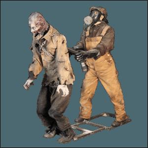 SITE PHOTO - ZMB800 Zombie Hunter w Animated Rabid Zombie 2
