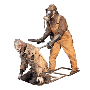 SITE PHOTO - ZMB801 Zombie Hunter Actor Controlled Puppet