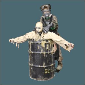 SITE PHOTO - ZMB805 Zombie Hunter Acid Bath Barrel