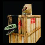 DINO301- Raptor Containment Crate
