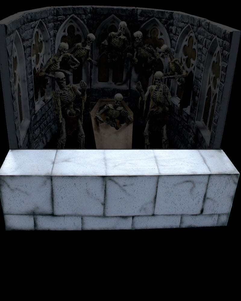 Burial Crypt Ring Toss Counter