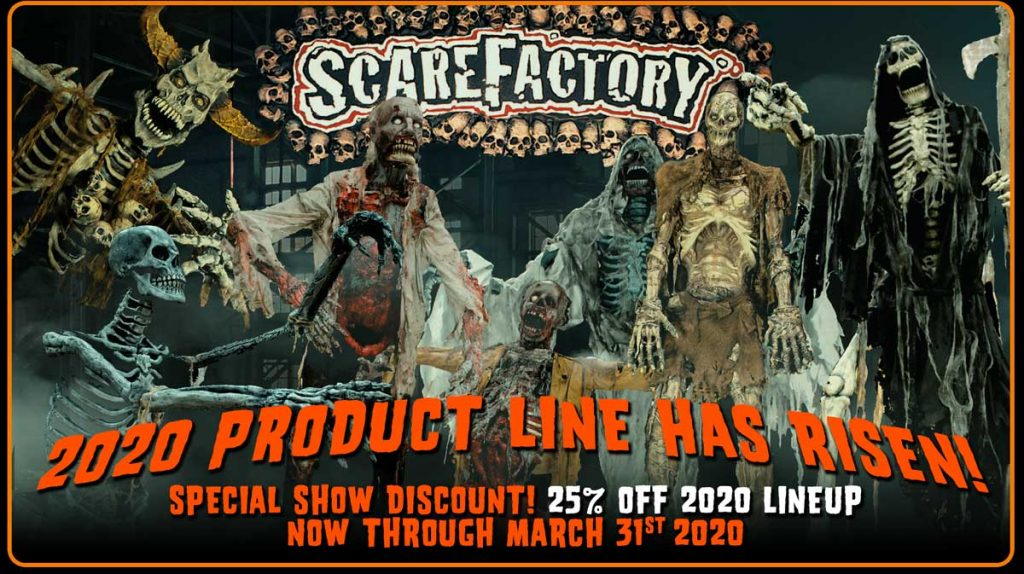 2020 Scarefactory Product Lineup